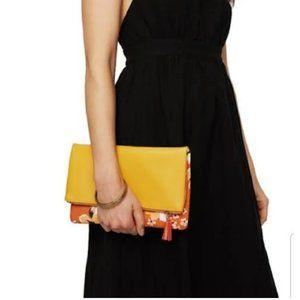 Rachel Pally Reversible Zahara Clutch Orange